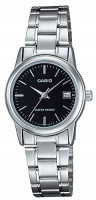 Casio Standard Collection WR Analog Watch - Silver and Black Photo