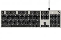 Logitech G413 USB QWERTY US English Silver Keyboard - Silver Photo