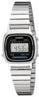 Casio Retro WR Digital Watch - Silver and Black Photo