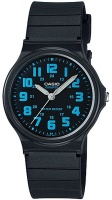 Casio Standard Collection WR Analog Watch - Black and White Photo