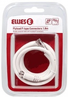 Ellies 1.8m F Type Connector Flylead Photo