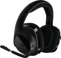 Logitech G533 Wireless 7.1 DTS Monaural Head-band Headset - Black Photo