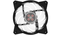 Cooler Master Masterfan RGB Controller 3x Master Fan Pro 120mm Air Balance Chassis Cooling Fan - RGB LED Photo