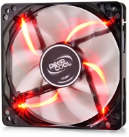 DeepCool Wind Blade 120R 120mm Case Fan with Red LED Photo