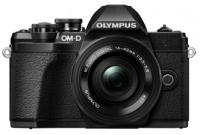 Olympus OM-D E-M10 Mark 3 Pancake Zoom Lens - Black Photo