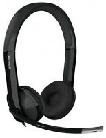 Microsoft LifeChat LX-6000 for Business Binaural Head-band Headset - Black Photo