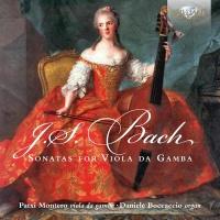 Bach Bach / Montero / Montero Patxi / Boccaccio Da - J.S. Bach: Sonatas For Viola Da Gamba & Organ Photo