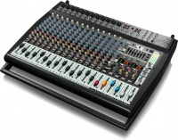 Behringer PMP6000 Europower 20 Channel 1600 watt Powered Mixer with Dual Multi-FX Processor and FBQ Feedback Detection Photo