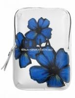 Golla Madge Digi Camera Bag - White and Blue Photo
