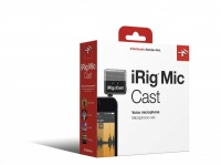 IK Multimedia iRig Mic Cast Ultra Compact Microphone for Apple Devices Photo