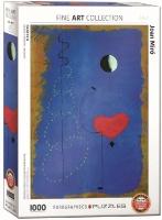 Eurographics Puzzle 1000 Pieces - Joan Miro - Ballerina 2 Photo