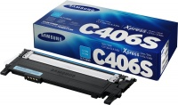 HP - Samsung CLT-C406S Cyan Toner Cartridge Photo