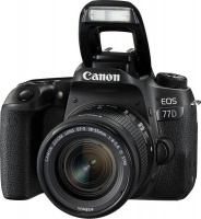 Canon EOS 77D 18-55mm F4.0-5.6 IS STM SLR Camera Kit 24.2MP Photo