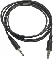 Snug 1.5m 3.5mm Stereo Audio Cable - Black Photo
