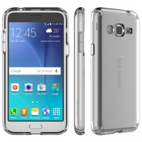 Speck CandyShell Clear Case for Samsung Galaxy J3 - Clear Photo