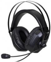 Cooler Master - MasterPulse MH320 Binaural Head-band Headset - Black Photo