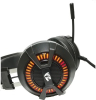 Redragon Bio Gaming 3-Colour LED Gaming Headset - Black Photo