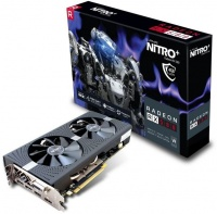 Sapphire Nitro AMD Radeon RX580 4GD5 OC Edition Gaming Graphics Card Photo