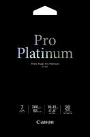 Canon - PT-101 - Pro Platinum Photo Paper 10x15cm 20 sheets Photo