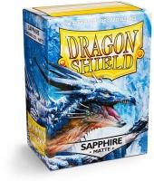 Arcane Tinmen Dragon Shield - Standard Sleeves - Matte Sapphire Photo
