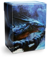 Arcane Tinmen Dragon Shield - Deck Shell / Box - Sapphire 'Roiin & Royenna' Photo