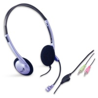 Genius HS-02B Stereo Headset with Microphone Photo