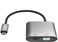 Kanex USB-C VGA With USB-A and USB-C With Power Delivery Adapter Photo