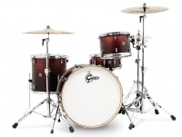 Gretsch Catalina Club Series 4 pieces Shell Pack Acoustic Drum Kit - Satin Antique Fade Photo