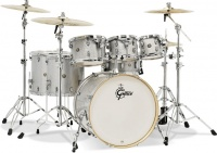 Gretsch  Catalina Maple Series 7 pieces Shell Pack Acoustic Drum Kit - Silver Sparkle Photo