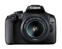 Canon - 2000D BK 18-55 IS SB130 16GB EU26 Digital Camera Photo