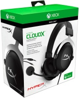HyperX - CloudX Gaming Headset - Official Xbox Licensed Headset with Detachable mic – Black/Silver- Photo
