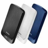 ADATA - HV320 2TB USB 3.0 External Hard Drive - White Photo