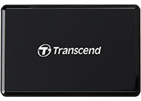 Transcend USB 3.1 Multi-Card Reader - Black Photo