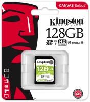 Kingston Technology Kingston Canvas Select 128GB SDHC Class 10 SD Memory Card UHS-I 80MB/s R Flash Memory Card Photo