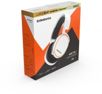 Steelseries Gaming Headset - Arctis 5 - 2019 Edition - White Photo
