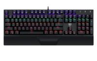 T Dagger T-Dagger Destroyer Mechanical Gaming Keyboard with Rainbow Backlighting - Black Photo