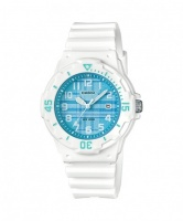 Casio Ladies Standard Collection Analogue Wrist Watch - White and Green Photo