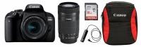 Canon EOS 800D EF-S 18-55 IS STM Lens Double IS Bundle Photo
