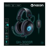 NACON - GH-300SRR 7.1 Gaming Headset - Black Photo