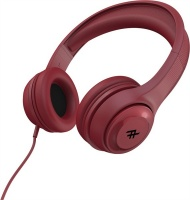Zagg - iFrogz Aurora Wired On-Ear Headphones - Red Photo