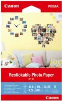 """Canon Restickable Photo Paper - 4 x 6"""" Photo"""