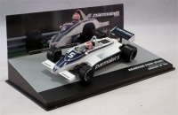 Panini Collections Formula 1: The Car Collection - Brabham Ford BT49C - Nelson Piquet - P1 - Germany GP - 1981 Photo