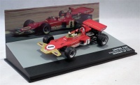 Panini Collections Formula 1: The Car Collection - Lotus Ford 72D - Emerson Fittipaldi - P6 - Germany GP - 1971 Photo