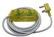 Ellies - 3m 10A Extension Cable - Yellow Photo