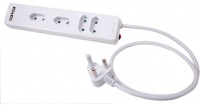 Ellies 4 Way 2 Pin Euro Multiplug with Usb Function Photo