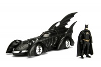 Jada Toys - 1/24 DC Comics 1995 Forever: Batmobile With Batman Photo