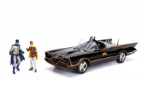 Jada Toys - 1/18 Batmobile Classic TV Series 1966 with Batman and Robin figures Photo
