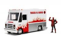 Jada Toys - 1/24 Marvel Deadpool & Taco Truck Die-Cast Car Photo
