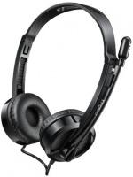 Rapoo H100 Wired Headset Black Photo