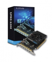 Sapphire - AMD GPRO 6200 4GB GDDR5 Graphics Card Photo